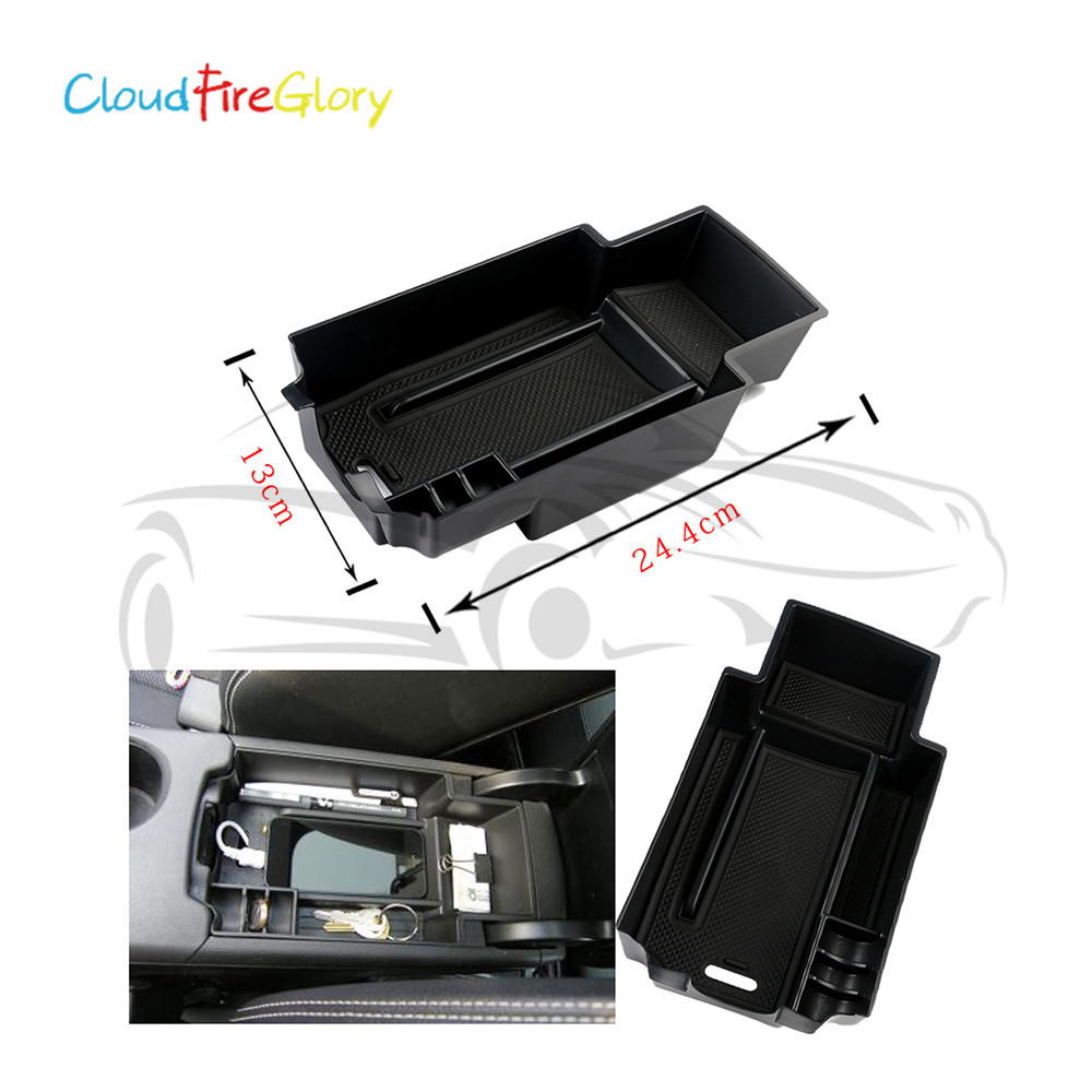CloudFireGlory For <font><b>Mercedes</b></font> Benz A260 A200 A180 B180 <font><b>B200</b></font> <font><b>W246</b></font> Armrest Storage Pallet Box Center Console image