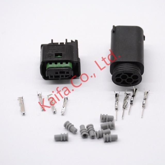 10 sets 4 Pin Car connector reversing radar plug locomotive ...