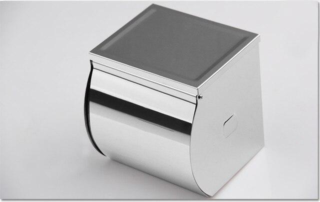 Badkamer Accessoires Rvs : Inspire rvs chrome toiletrolhouder tissue roll houders box cover in