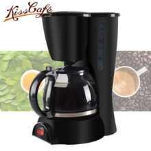 Drip-type American Espresso Coffee Maker Household Automatic Insulation CoffeeTea Maker with 600ml Coffee Tea Pot недорого