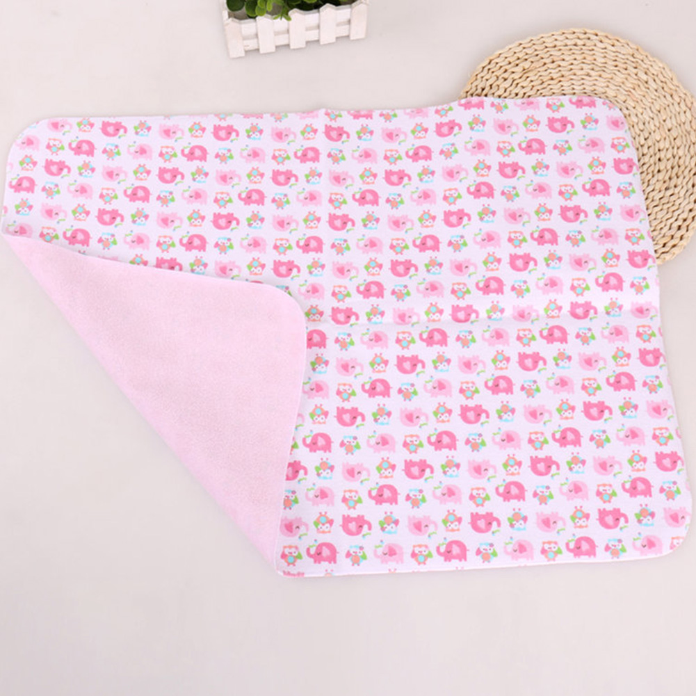 30x45cm Nappy Baby Infant Playmat Bedding Reusable Diaper Pad Soft Changing Pad Home Isolate Urine Waterproof Sheet Replace