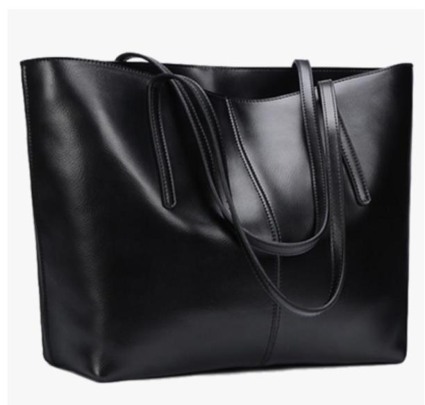 MAYFULL genuine leather new single shoulder bag female fashion Korean cowhide handbag classic bag black shoulder bags