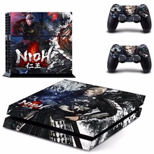 New NIOH Decal PS4 Skin Sticker For Sony Playstation 4 PS4 Console + 2Pcs Controller protective skins