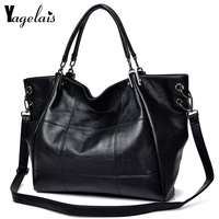 Large Capacity Women Clutch Leather Top Handle Bag Ladies Single Shoulder Bags Crossbody Bags Soft Fashion