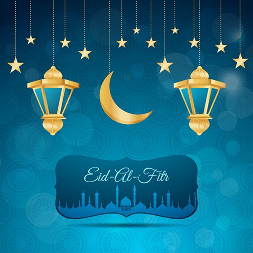 Golden Star Moon Lights Night Blue Sky Backgrounds Vinyl cloth High quality Computer printed wall backdrops