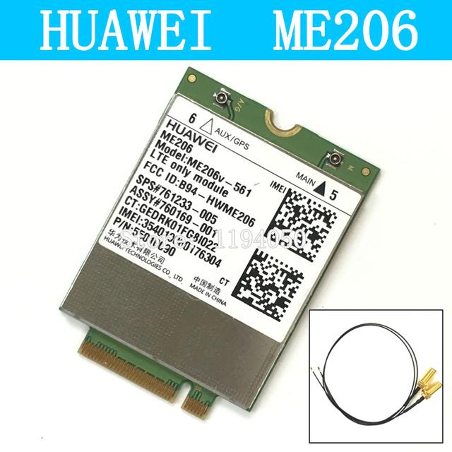 Huawei me206v-561 me206 4g lte fdd 4g tarjeta de módem 3g wwan tarjeta 4 gcard