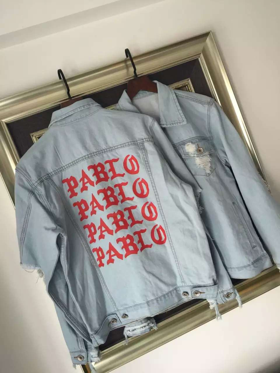 HTB1SZ6pNXXXXXb8XXXXq6xXFXXXB - I Feel Like Pablo Denim Jacket Season 3 Kanye West Pablo Jeans Jacket PTC 03