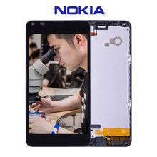 Original For Nokia Lumia 640 LCD Touch Screen with Frame For Nokia Lumia 640 Display Digitizer Assembly Replacement Parts N640