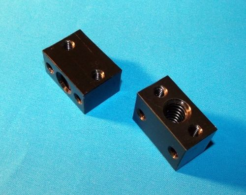 Betrouwbaar Swmaker Diy Cnc En D Printer Onderdelen M10 * 1.5mm Lood Schroef Delrin Moer Blok Rh Voor M10 Schroefdraad Staaf