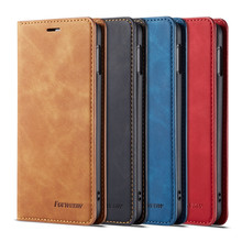 цена на Stand Wallet Book Style Flip Wallet Phone Case For Samsung Galaxy Note 9 S8 S9 S10 J4 J6 E Plus A6 A7 A8 2018 Leather Shell Capa
