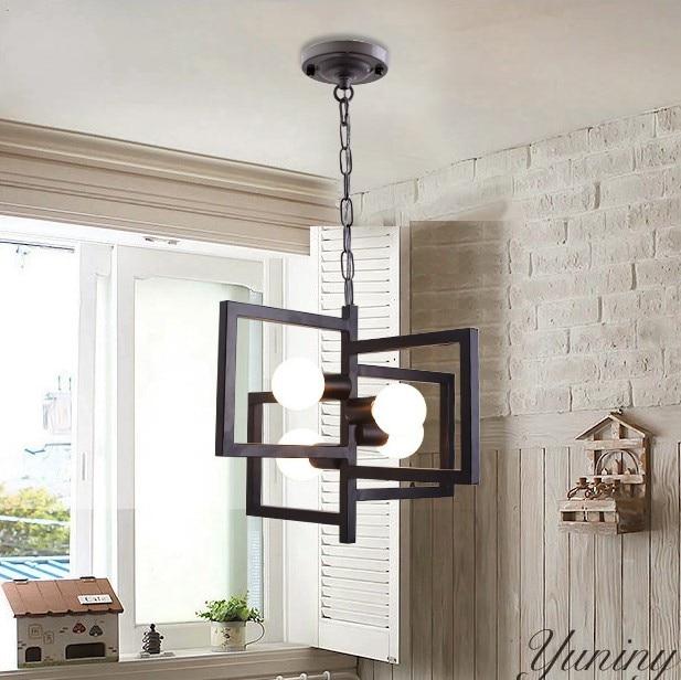 Nordic minimalist pendant lights modern art restaurant lamps cozy cafe living room bedroom lighting Fixture