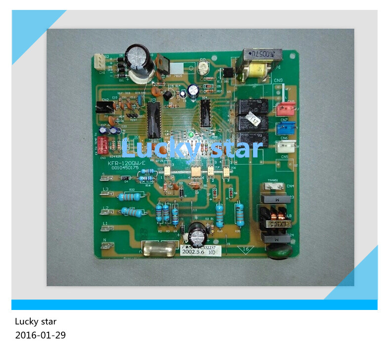 95% new for Haier Air conditioning computer board circuit board KFR-120QW/E 0010450175 good working
