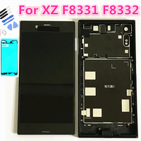 Original LCD For SONY Xperia XZ Display F8331 F8332 Touch Screen Digitizer Replacement For SONY XZ LCD with frame back cover