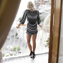 NEW Sexy Jumpsuit Women Vintage Print Bodysuit Fashion Casual Ladies Loose Beach Body Suit Sexy Rompers Womens Jumpsuit