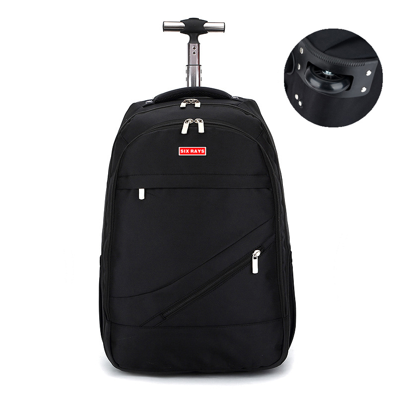 MAGIC UNION Men s Travel Bag Trolley backpack Man Backpack Polyester Bags Waterproof Computer Packsack Brand