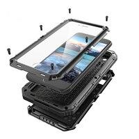3 Proofings Armor Case For Iphone 7 Metal Aluminum Dirt Shock Waterproof IP68 Case For IPhone