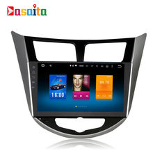 Car 2 din Android GPS Navi for hyundai solaris I25 autoradio navigation head unit multimedia Player 4Gb+32Gb Android 6.0 PX5 RDS