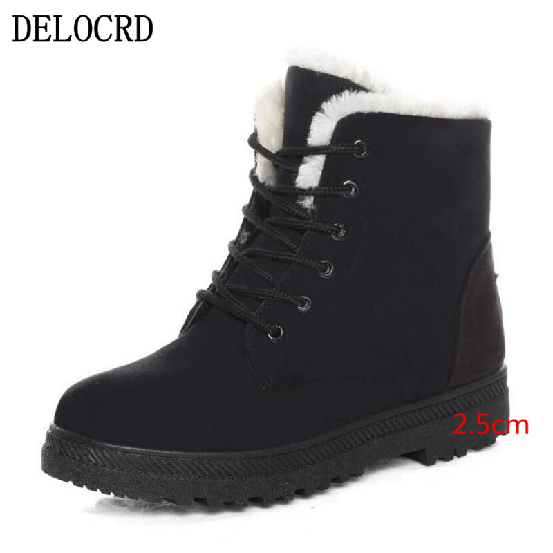 New Ladies Snow Boots Winter New Women's Winter Shoes  1