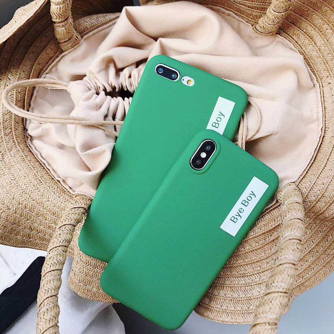 Matte Words TPU Phone Cases for iphone X SE 5 5S 6S 6 7 8 Plus Cover Silicone Fundas Huawei P20 Lite Mate 10 Pro Honor 9 8 Cover