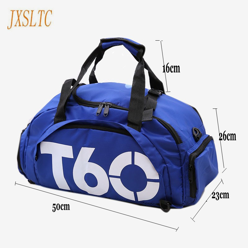 b41138adb7 JXSLTC Brand Men Travel duffle Bag Women Waterproof rucksack Separate Space  For Shoes pouch Voyage sac de T60 Hide Backpack bags-in Travel Bags from  Luggage ...