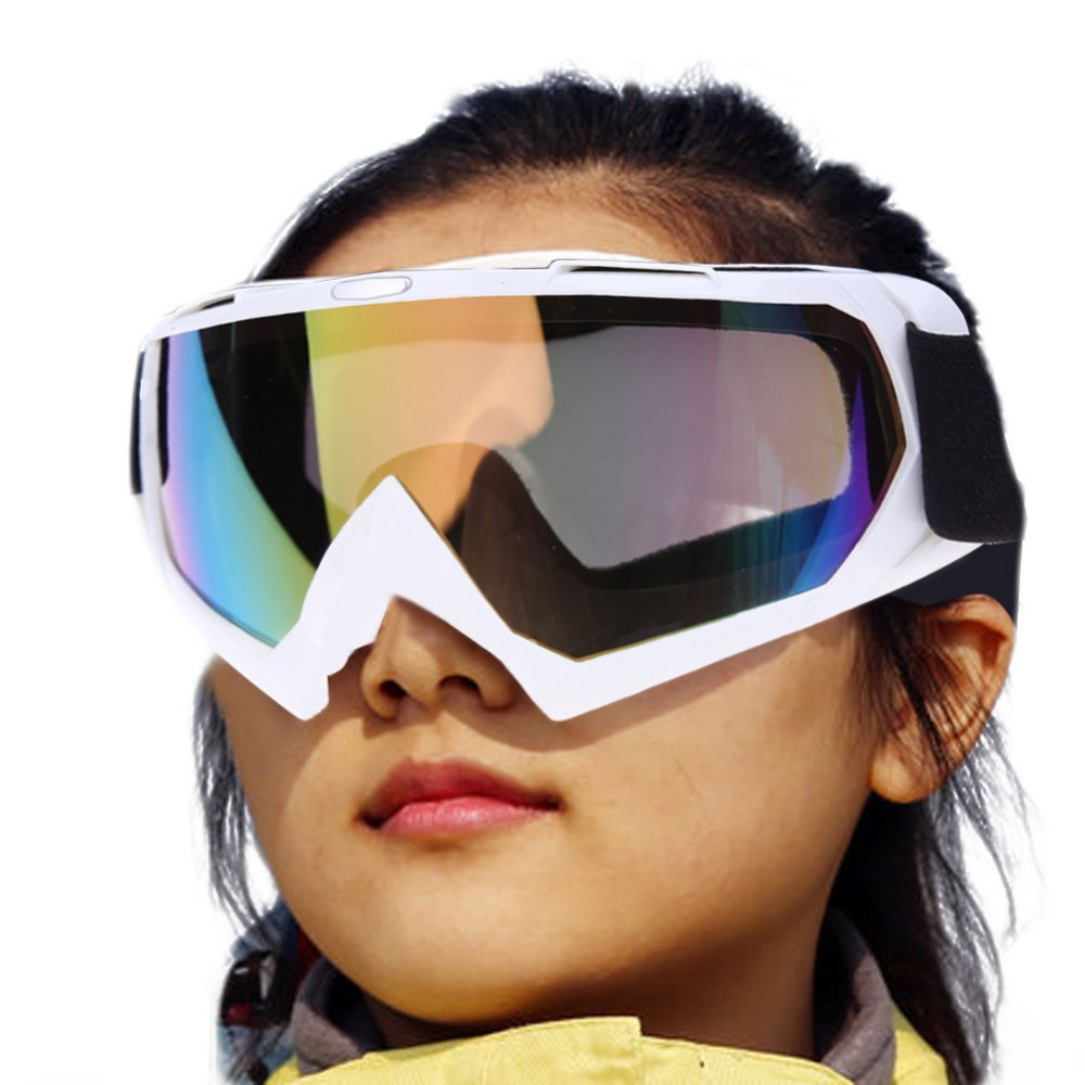 Ski Goggles Snow Sports Snowboard Snowmobile Anti-fog Goggles Windproof Dustproof Glasses UV400 Skate Ski Sunglasses Eyewear new 2018 uv400 anti fog ski goggles snowboard glasses ski snowmobile goggles snow ski mask sports goggles men skiing eyewear