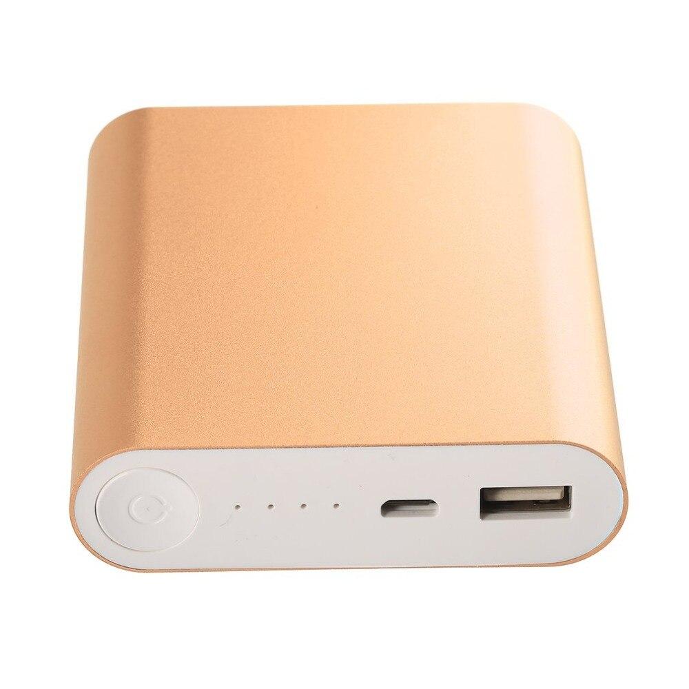 Universale Ultra sottile banca di potere 10000 mah mini portatile powerbank Caricabatteria Esterno della Banca di Potere per Xiaomi per Iphone