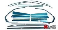 Для BMW X5 E70 2009 2010 2011 2013 2012 Нержавеющая внешний подоконник крышка отделка + Centra столб планки Accessaories 20 шт