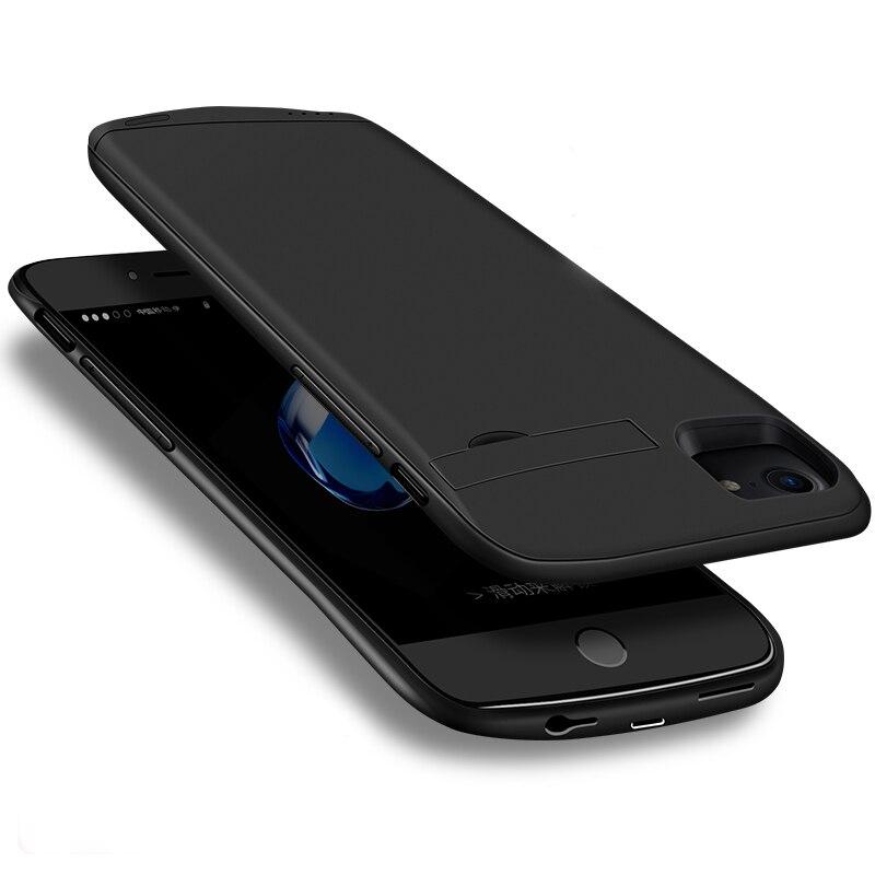 imágenes para Para apple iphone 6s ultrafino elegante de la caja de batería 4800 mah banco de la energía externa de reserva portable del cargador para iphone 6/6 plus