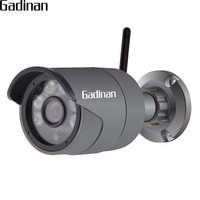 GADINAN Outdoor Waterproof Bullet IP Camera 720P 960P ONVIF Wifi Wireless Surveillance Camera Night Vision DSP