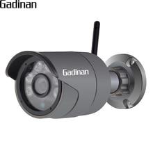 GADINAN Outdoor Waterproof Bullet IP Camera 720P/960P H.264+ ONVIF AP Wifi Wireless Surveillance Night Vision Hi3518EV200 XMEye