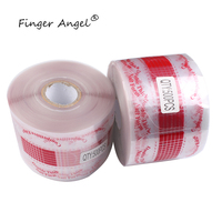 500Pcs/roll Professional Red Nail Form Sticker UV Gel Nail Art Tip Extension Guide Tools for Salon Nails Form JT176