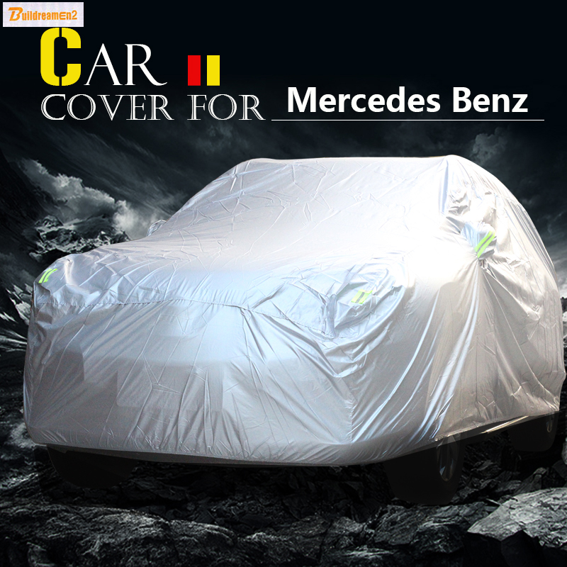 Buildreamen2 Car Cover SUV Sun Anti UV Snow Rain Scratch Resistant Cover Waterproof For  ...