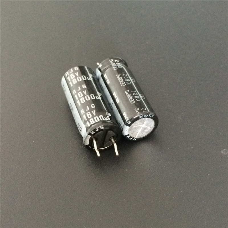 5pcs 1800uF 16V ELNA RJG Series 10x25mm 16V1800uF Audio Grade Capacitor