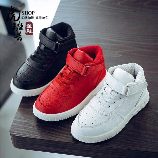 10a39c289 2018 zapatos para niños botas de cuero zapatos de suela suave para mujer  zapatos deportivos para