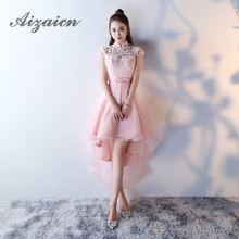Bridesmaid Dress Elegant 2018 Fashion Girl Traditional Evening Gown Red Flower Wedding Qipao Lace Chinese Cheongsam Katoen