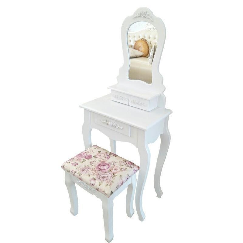 Camera Da Letto Comoda Para Tocador De Maquillaje Cabinet European Wood Penteadeira Bedroom Furniture Quarto Dressing Table