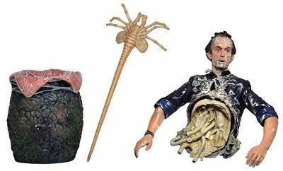 Фильм «чужой» Aredator половина тела Бишоп королева атака ПВХ фигурка Коллекционная модель игрушки 10 см