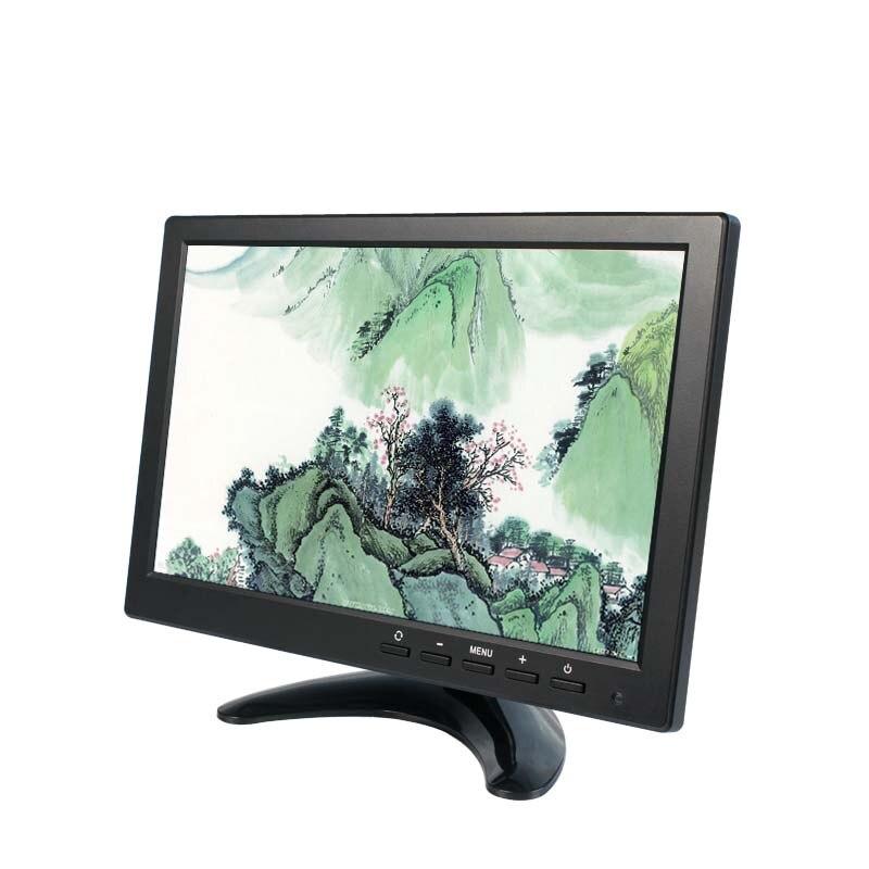12В 10.1 дюймов 1280*800 светодиодный экран монитор автомобиля/автомобиля автономный монитор VGA HDMI и AV кабель USB кабель BNC/ТВ 10198-4