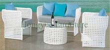 Patio outdoor rattan sofa furniture set sale,outdoor garden sofa set uk