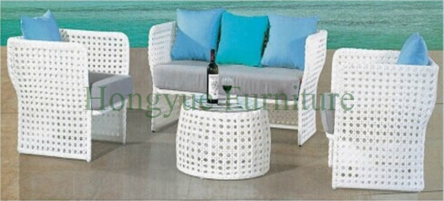 Patio exterior rattan sofa furniture set venta, exterior del sofá del jardín reino unido