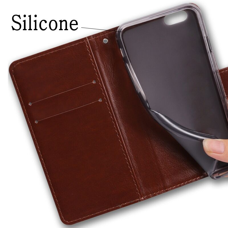 Flip phone case For ZTE BLade V8 Lite Mini Pro V7 Lite Max leather wallet style Shining cover V8Lite V8Mini V8Pro V7Lite V7Max in Flip Cases from Cellphones Telecommunications