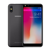 DOOGEE X53 1GB RAM 16GB ROM 5.3 inch 18:9 Mobile Phone MTK6580M Quad Core 5MP Dual Rear Cameras 3G Android 7.0 WCDMA Cellphone