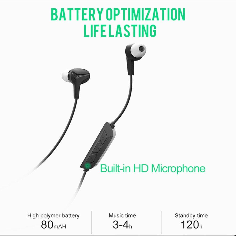 Sports Wireless Bluetooth 4.0 Headset Stereo HIFI Earphone Deep Bass Earbud Hands free Headphone