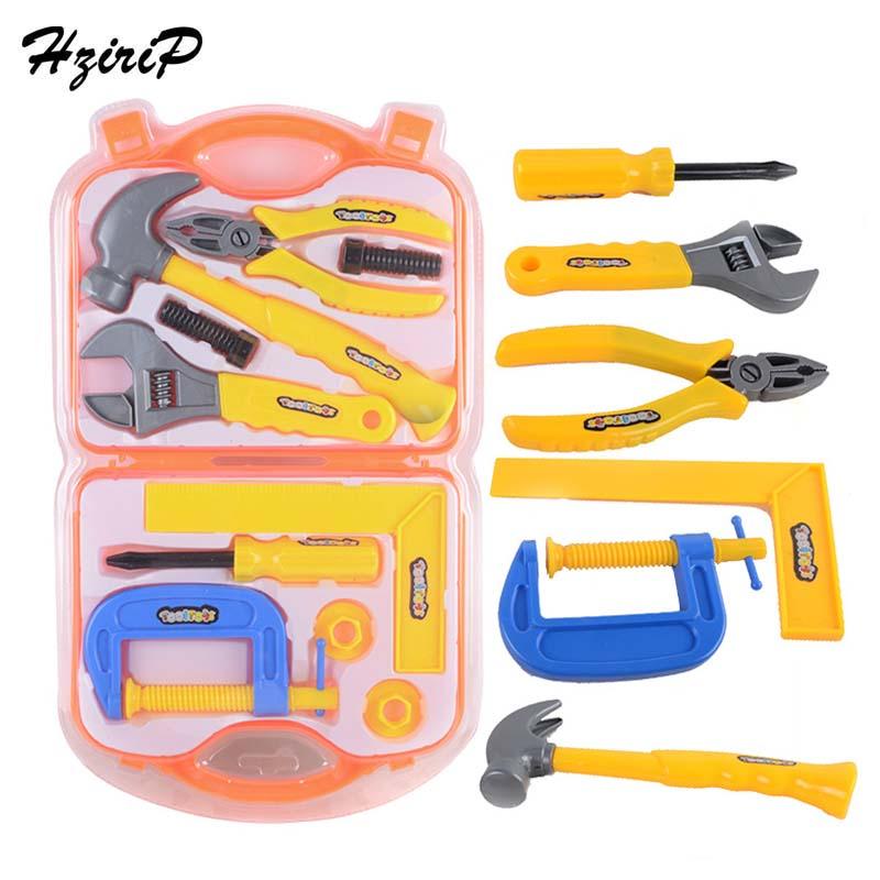 HziriP 10Pcs/Set Repair Tool Play House Toys Plastic Pretend Play Educational Toy Simulation Tools Children Boys Birthday Gifts ...
