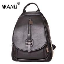 WANU модная нагрудная сумка женский рюкзак для отдыха кожаные рюкзаки женская школьная сумка на плечо для подростков сумки для девушек для путешествий