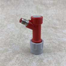 NEW  Pin 1/4 Barb or MFL Thread Liquid - Gas Lock Keg Disconnect Homebrew Beer Fitting