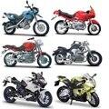 Maisto 1:18 bm s1100rr/f 650gs/1200c/hp2 sport r1100r/r1100rs/die-moldes moto modelo colección