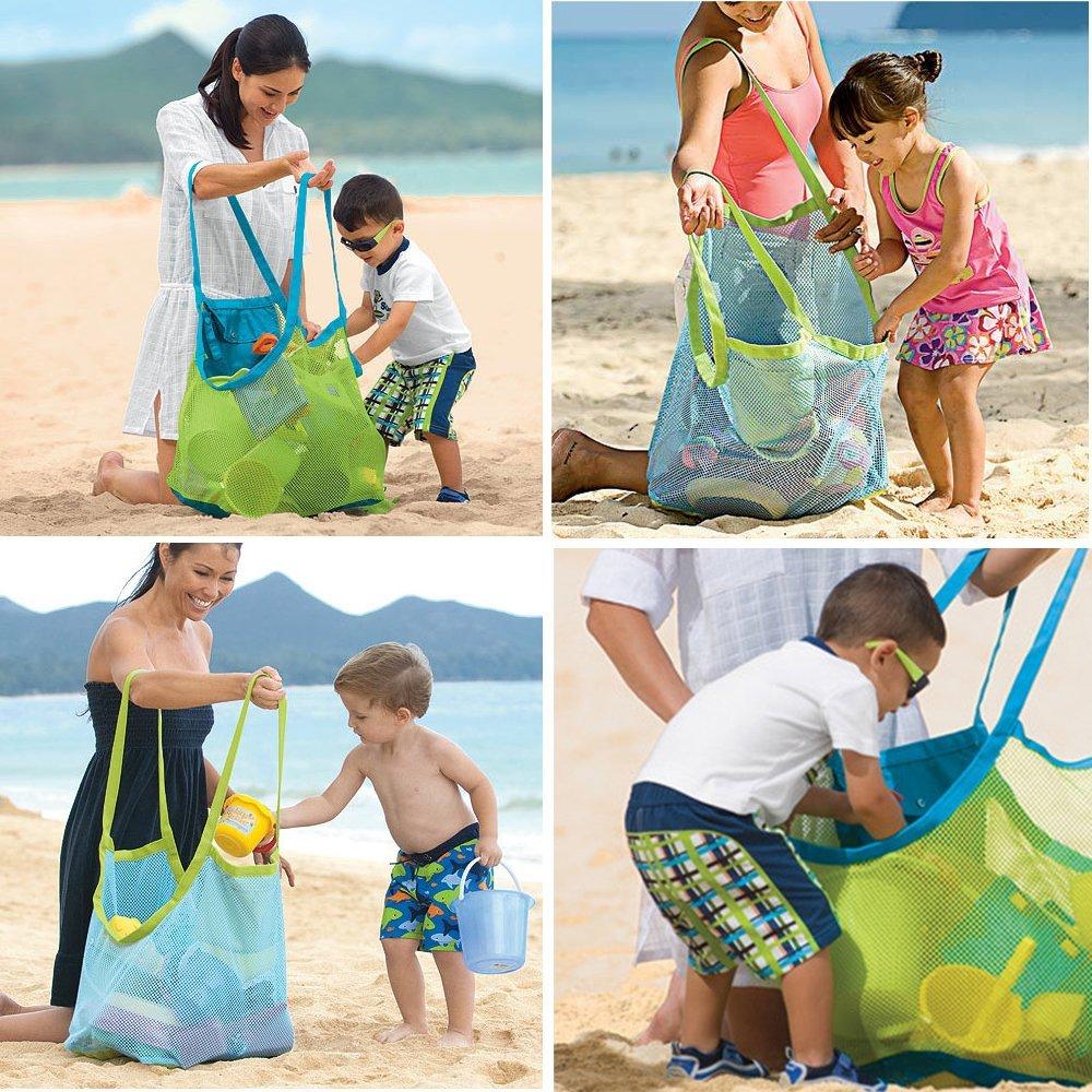 Aliexpress.com : Buy 1pcs Extra Large Family Mesh Beach Bag Tote ...