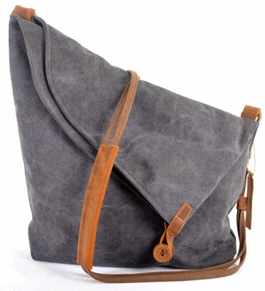 แฟชั่นเกาหลีวินเทจทหารผ้าใบหนังผู้หญิงMessengerถุงผ้าใบกระเป๋าสะพายสำหรับผู้หญิงC Rossbodyกระเป๋าสะพายกระเป๋าสบายๆ-ใน กระเป๋าหูหิ้วด้านบน จาก สัมภาระและกระเป๋า บน AliExpress - 11.11_สิบเอ็ด สิบเอ็ดวันคนโสด 1