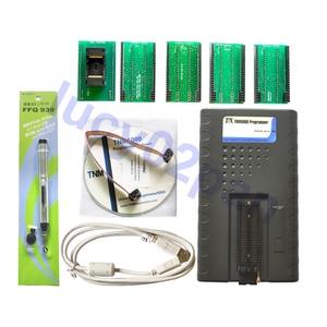 Image 1 - TNM5000 usbtinyisp avr Programmer+TSOP56 adapter,for all 8 16 Pins Serial SPI flash memory,memory recorder,support laptop IO